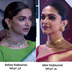 """ - Deepika when being asked if she would like to play a historical character agai post Padmaavat << idk if i… Indian Wedding Jewelry, Bridal Jewelry, Deepika Padukone Style, Bollywood, Gold Jewellery Design, Gold Jewelry, Diamond Jewelry, India Jewelry, Portraits"