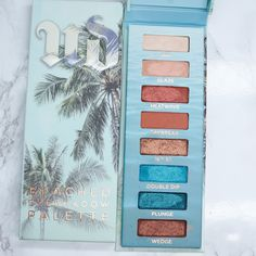 Urban Decay Beached Eyeshadow Palette Swatches Plus a Giveaway to help me celebrate 10 years of beauty blogging at Phyrra.net!