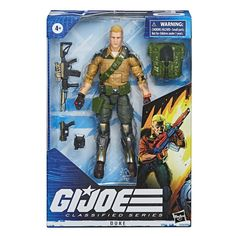 Boop Toys has opened pre-orders of Hasbro's upcoming Hasbro G. Joe Classified Figures Wave which includes Duke, Scarlet, Roadblock, Tarantula and Darkling. Buy it now and save off with the coupon Gi Joe, Dwayne Johnson, Channing Tatum, Marvel Legends, Cobra Commander, Storm Shadow, Snake Eyes, Best Artist, Toy Store