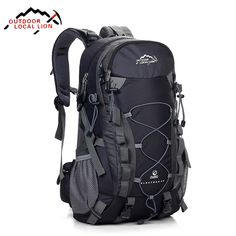 Good price Local Lion Hiking Backpack Climbing Travelling Camping Backpacks Professional Trekking Bags Rucksack Bolsas Mochila 32*15*50CM just only $36.62 - 40.15 with free shipping worldwide  #sportsbags Plese click on picture to see our special price for you