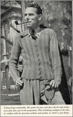 Mens fashion 1940's