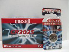 BATTERIA MAXELL CR 2025 BLISTER 1 PZ