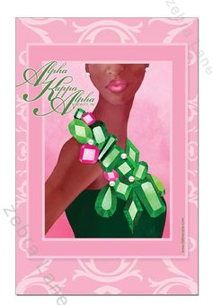 361 best aka images on pinterest in 2018 alpha kappa alpha alpha kappa alpha gem art print by zebra lane m4hsunfo