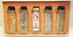 Vintage Samuel Callet Co. glass baby bottles ~ wOw!!!
