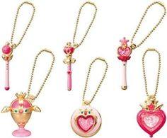 Sailor Moon die cast Charm 2 all six Mini
