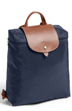 longchamp le pliage navy backpack