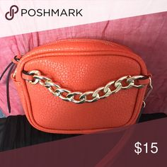 Small cross body/wristlet Small cross body that converts into a wristlet comes with 2 straps! Bags Crossbody Bags