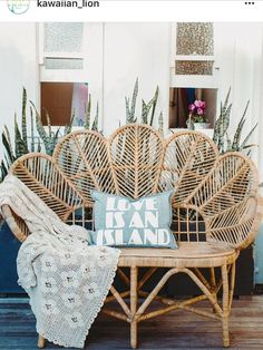 Ain't that the truth 🤙🏽 via one of my fave aloha-spreadin' Aussie brands Rattan Furniture, Furniture Decor, Boho Home, Bohemian Decor, Sweet Home, House Design, Interior Design, Uppsala, Backyard