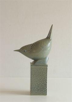 "Anthony Theakston - ""Wren""  ceramic bird box"