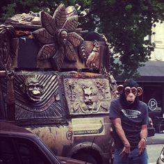 oh Portland, with your drive-by break-dancing monkeys. #Portlandia by *britta, via Flickr