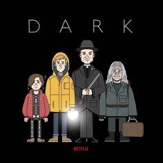 Movies And Series, Best Series, Tv Series, Netflix International, Imagenes Dark, Dexter Seasons, Bff Drawings, Dark Wallpaper Iphone, Fanart