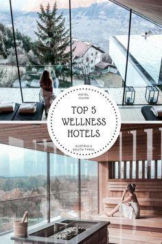 die schönsten Wellness Hotels in Österreich & Südtirol zusammengefasst in meinem 5 Top Wellness Hotels Guide - hier musst du hin! Alpenhotels mit stylischem Interior & einer mega Aussicht! www.twentythreetimezones.com