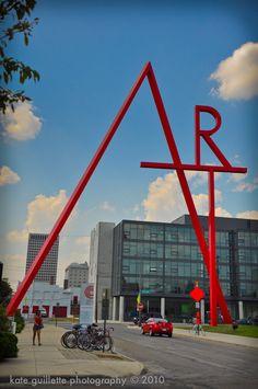 ART word sculpture