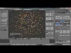 Blender Explosion Modifier Tutorial - YouTube