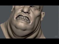 ▶ Zbrush Sculpting - Fat Pirate - YouTube