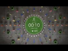 Samsung Choreographs an Awesome Human Kaleidoscope for Its Gear Watch…