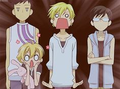 ouran high school funny gifs | ouran high school host club ouran animated GIF