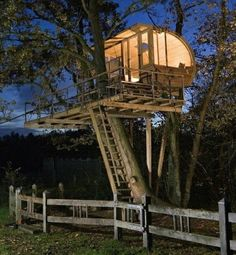 20 Amazing Fairytale Tree Houses Around the Globe