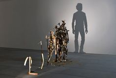 shadow art sculpture