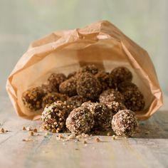 Quinoamuesli bonbons - Rineke Dijkinga
