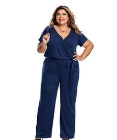 4773c7300 Macacao com transpasse em helanca e renda. Lissette Rodriguez · plus-size  clothes