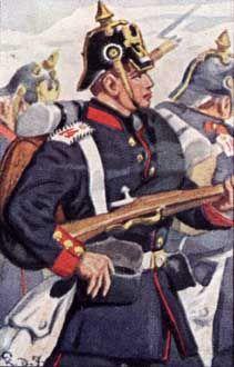 Preußische Infanterie: I. und II. Armee-Korps