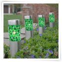 8 in. Solar Mosaic Stake Path Light