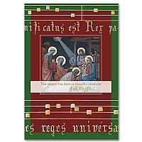 Adoration of the Magi - Majesty of Christmas Card