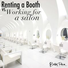 Renting a Booth Vs. Working For A Salon on Bangstyle, House of Hair Inspiration