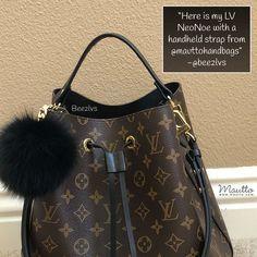 31f531c296e4 Black Leather Strap for Louis Vuitton (LV)