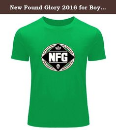 New Found Glory 2016 for Boys Girls Printed Short Sleeve tops t shirts. We offer a mix of 100% Preshrunk Cotton and Poly/Cotton Blends based on availability,designed and printed in the China. We use the highest grade plasticol ink and state of the art equipment to ensure vibrant colors and lasting durability. Professionally printed super soft funny and awesome tees. Our lightweight fitted tees are made from ultra soft ringspun cotton to get that comfortable fit and feel. Once you put this...