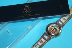 Venice Simplon Orient Express Watch in Presentation Box. Swiss Made. Simplon Orient Express, Gold Gift Boxes, Swiss Made Watches, Travel Souvenirs, Agatha Christie, Rolex Watches, Venice, Bracelet Watch, Presentation