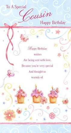 Make Your Selection From This Beautiful Range Of Female Relation Birthday Greetings