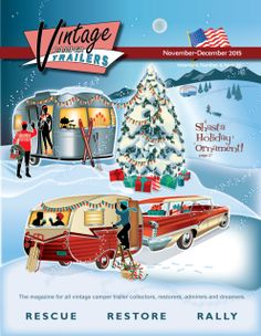 Back Issues of the Vintage Camper Trailers Magazine