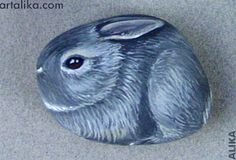 I paint animals on the rocks. Any animals - domestic or wild.