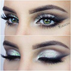 Eyes of the day wearing @flutterlashesinc Alyssa, glitter from @eyekandycosmetics, b... | Use Instagram online! Websta is the Best Instagram Web Viewer!
