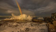 Winter Rainbow. Sydney Australia.  Photo Steve Turner Photography. c 2017