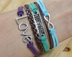 friendship Braceletsinfinite love braceletsancient by sky2light, $6.99