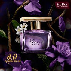¡Celebra lo mejor de la vida con la pasión que emana Miss Giordani Intense! La fragancia con notas de Neroli y acordes de Gardenia Púrpura. Bit.ly/Mx_Pg05