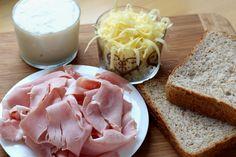 Chutný zapečený chlebík