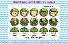 """1"""" bottle caps (4x6) 3 part ornament Christmas D760  3 Part BottleCap Ornaments Image #3partOrnaments  #bottlecap #BCI #shrinkydinkimages #bowcenters #hairbows #bowmaking #ironon #printables #printyourself #digitaltransfer #doityourself #transfer #ribbongraphics #ribbon #shirtprint #tshirt #digitalart #diy #digital #graphicdesign please purchase via link  http://craftinheavenboutique.com/index.php?main_page=index&cPath=323_533_42_114"""