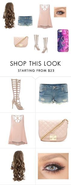"""""""Flirty much"""" by m-d-cardin ❤ liked on Polyvore featuring Kendall + Kylie, True Religion, Glamorous, Forever 21 and Casetify"""