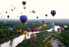 Festival Internacional de Balonismo de Albuquerque, EUA   15 extraordinários festivais que você deveria conhecer