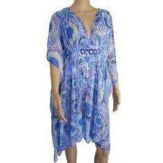 kaftan pattern. cool Antik Batik Women's Kea Mini Kaftan Dress. #kaftans