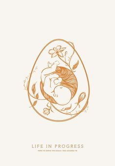 Life in Progress Logo by Cocorrina - gorgeous logo design using beautiful illustrations. artistic and minimal logo with a feminine touch. Doula, Pregnancy Art, Pregnancy Quotes, Pregnancy Shirts, Pregnancy Drawing, Weekly Pregnancy, Third Pregnancy, Pregnancy Belly, Pregnancy Journal