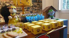 Balão de Papel: Festa Patrulha Canina - Rubble