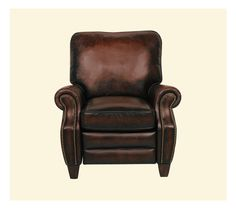 Barcalounger Leather Recliner | Briarwood 7-4490 Series