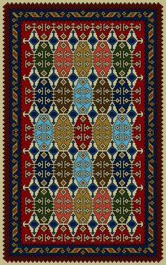 Embroidery Patterns, Cross Stitch Patterns, Palestinian Embroidery, Needlepoint Designs, Prayer Rug, Afghan Rugs, Miniture Things, Floral Rug, Cross Stitch Designs