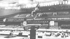 Simone Biles performs her Amanar vault during the 2014 World Championships in Nanning, China. Gymnastics Facts, Gymnastics Images, Amazing Gymnastics, Gymnastics Videos, Sport Gymnastics, Rhythmic Gymnastics, Gymnastics Things, American Gymnastics, Long Way Round