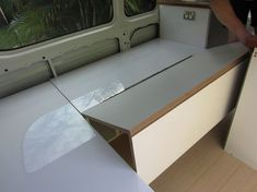 diy pullout beds in window seat - Google Search